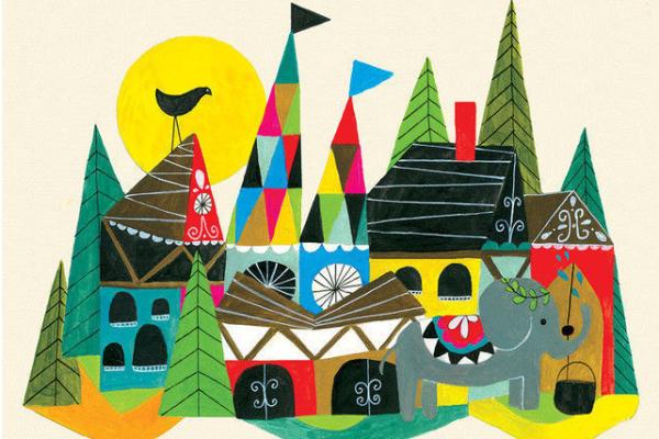 Art for kids: Lisa Congdon's Country | Cool Mom Picks