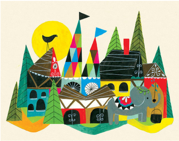Art for kids: Lisa Congdon's Country | Cool Mom Picks
