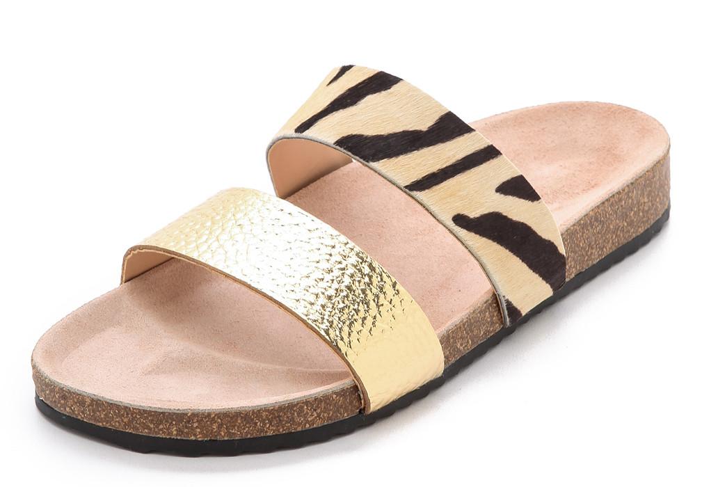 Cool Birkenstock alternatives on Cool Mom Picks: Loeffler Randal Paz Sandals