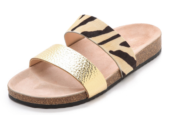 Cool Birkenstock alternatives on Cool Mom Picks: Loeffler Randal Paz Sandals