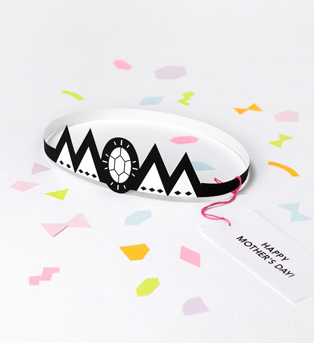 Printable Mother's Day Crown by Mr. Printables via Cool Mom Picks