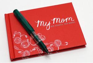 My Mom: Her Story, Her Words Keepsake Book on Cool Mom Picks