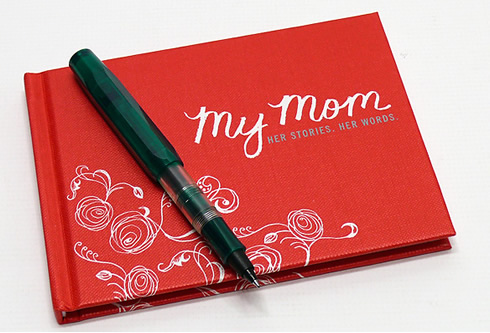 My Mom: Her Story, Her Words Keepsake Book on Cool Mom Picks