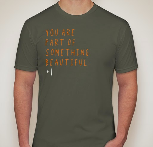 What 1 remarkable family is doing to support adoption for Adoption fundraiser t shirts