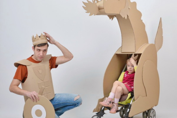 Cardboard Dad
