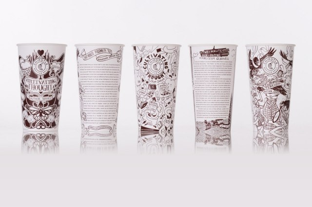 Chipotle's Cultivating Thought author series. Because burritos go better with bon mots