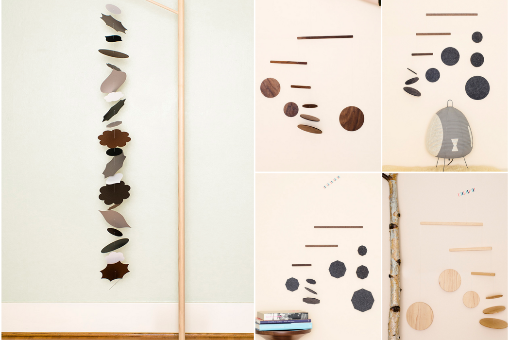 Handmade mobiles from Frazier and Crane on Cool Mom PIcks