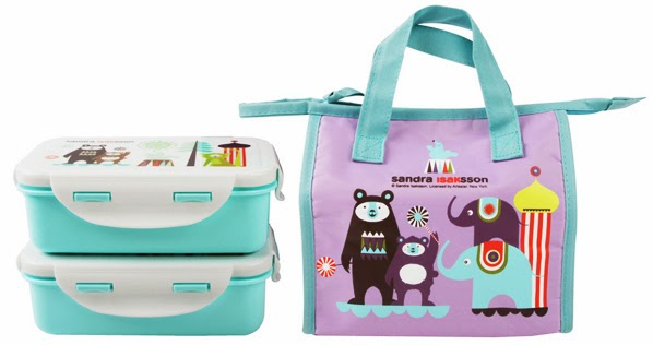Circus lunch bags and boxes for kids from ISAk