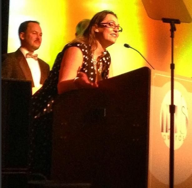 Iris Award winner Jenny Lawson of the Bloggess