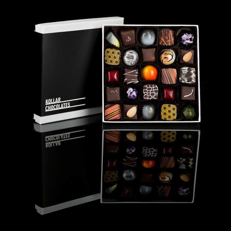 Kollar Chocolates gourmet truffles