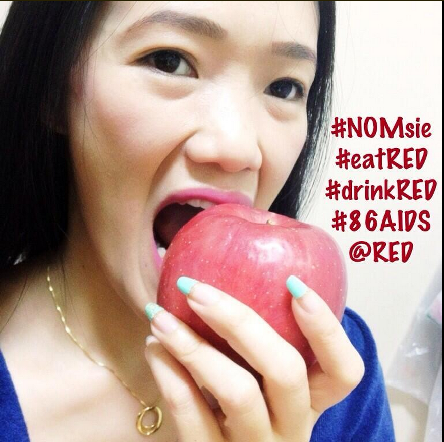 #NOMsie #eatred #drinkred photo from @_lil_bunny_ on Twitter