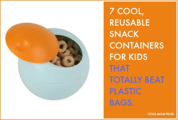 Cool reusable snack containers for kids