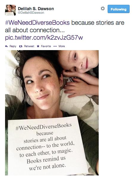 #weneeddiversebooks - @delilahsdawson