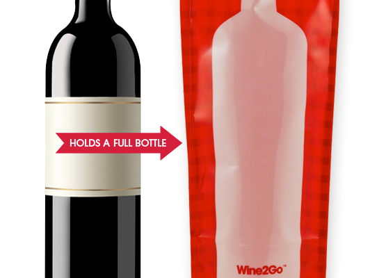 Wine2Go Plastic Wine Bottles and portable wine bags | Cool Mom Picks