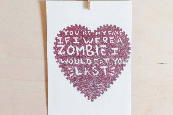 Zombie Mother's Day Card on Cool Mom Picks