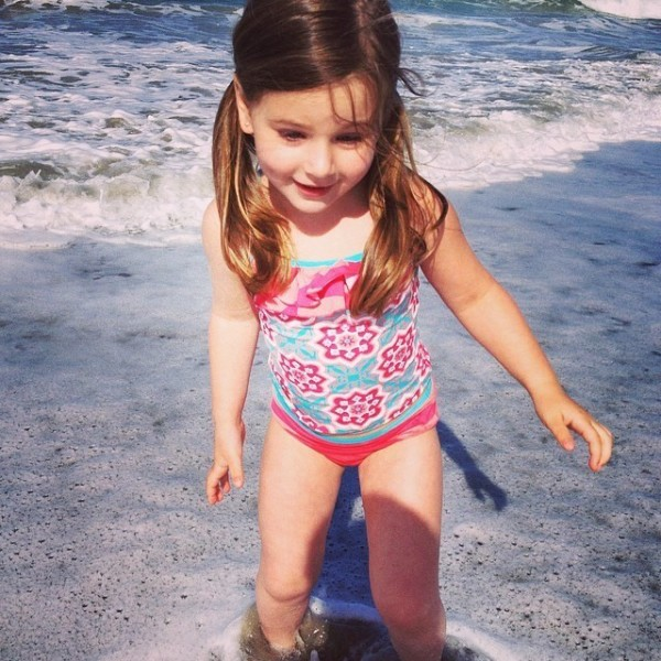 Appropriate two-piece swimwear for girls - Tea Collection Tankinis
