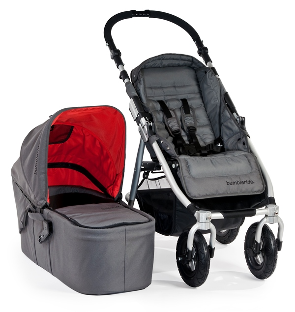 Bumbleride Indie 4 All-Terrain Stroller in Fog Grey