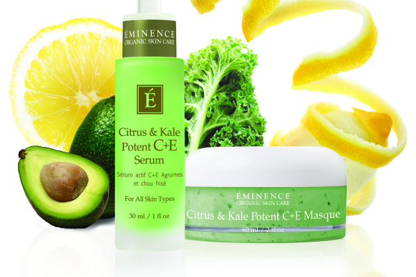 Eminence Organics Skin Care: Citrus & Kale Potent C+E Collection