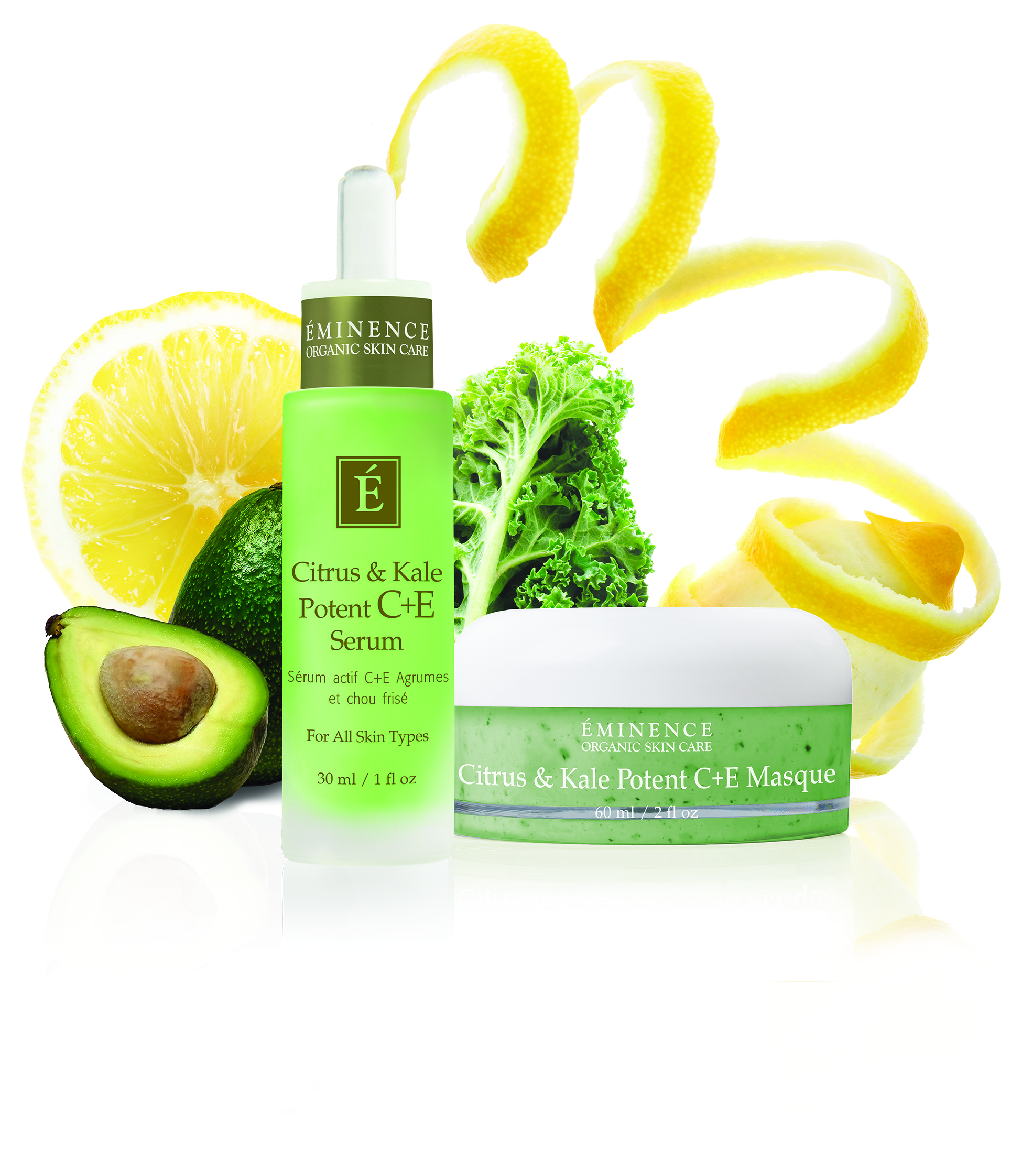 Kale for your face? New Eminence Organics skin care products are a new way to get your greens.
