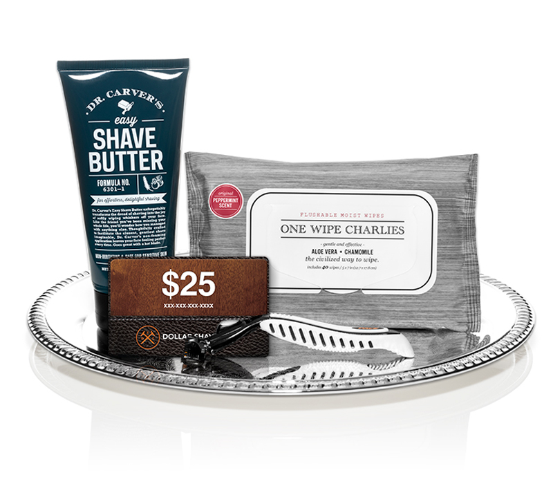 Last minute Father's Day Gifts: Dollar Shave Club Subscription