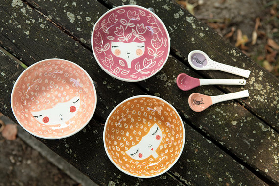 Marinski Handmades handmade ceramic bowls | Cool Mom Picks