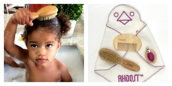 Rhoost's new eco-friendly baby grooming kit