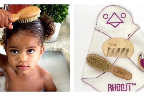 Rhoost's new eco-friendly baby grooming kit