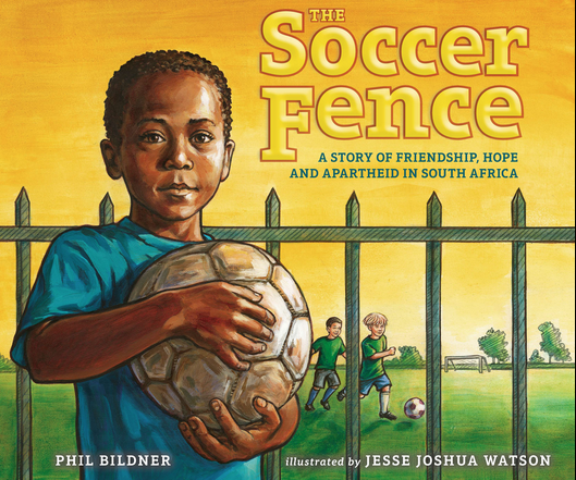 The Soccer Fence soccer book for kids