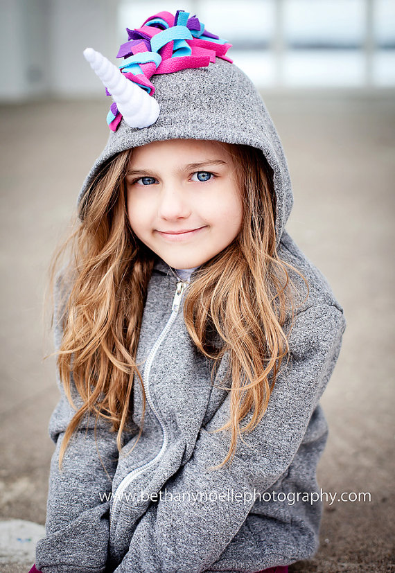 Unicorn clothes for girls: hoodie Pip and Squeak Boutique | Cool Mom Picks