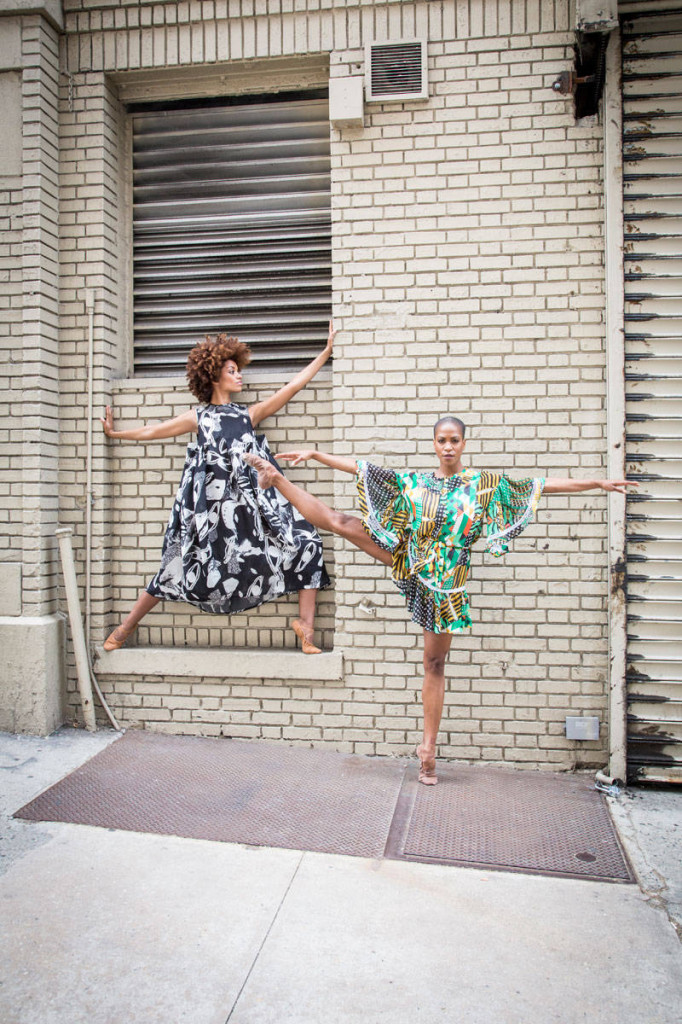 Alvin Ailey fashion spread for Elle by photog Kathryn Wirsing