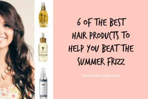 Beat the humidity with 6 of the best anti-frizz hair products. Because it's so not the heat.