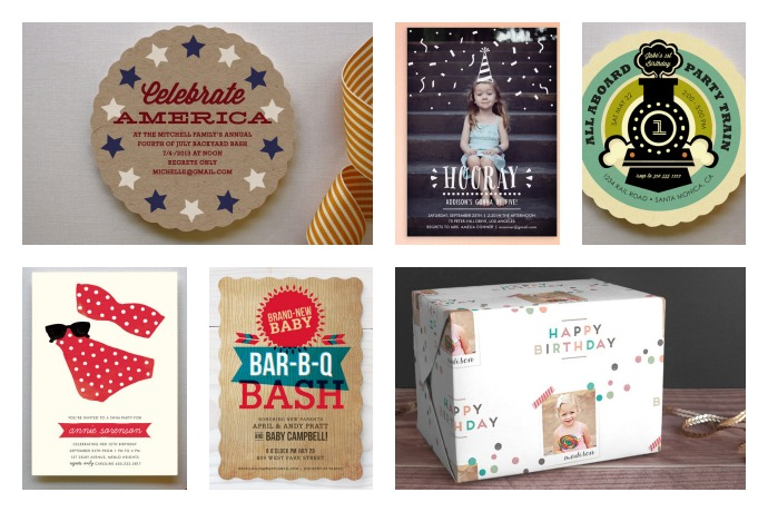 The coolest custom invitations for all kinds of summer parties. Even better, they're on sale.