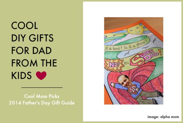 DIY gifts from the kids for dad: Father's Day Gift Guide 2014