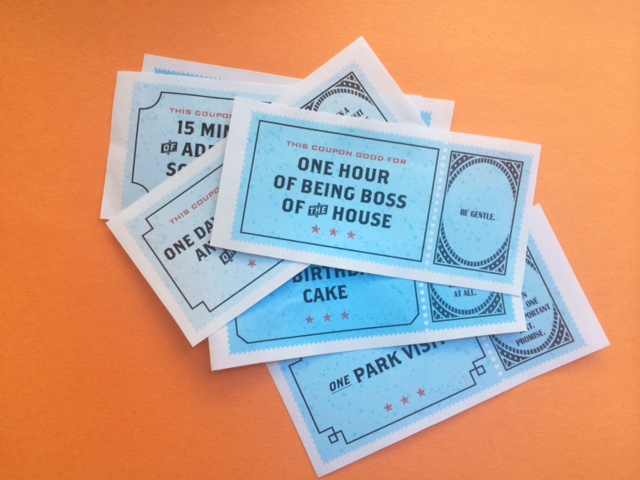 Free printable coupons for little surprises for the family | Cool Mom Picks