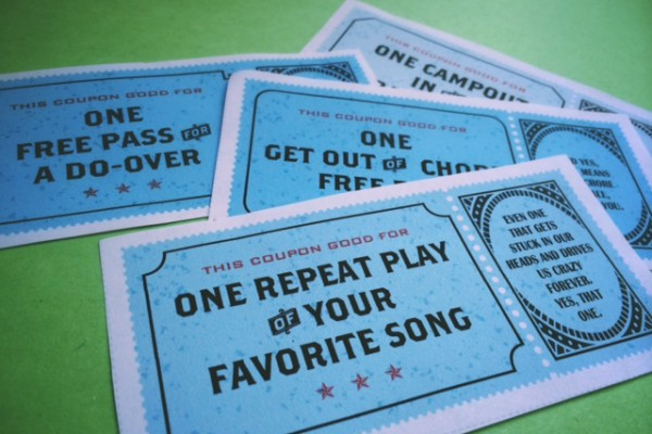 Free printable coupons for family surprises | Cool Mom Picks