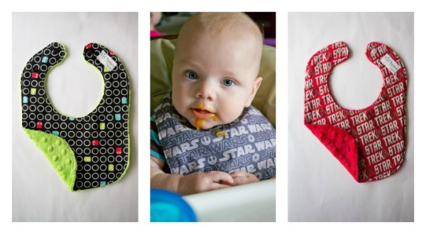 Geeky baby bibs from Etsy's Bitti Bottom Designs | Cool Mom Picks