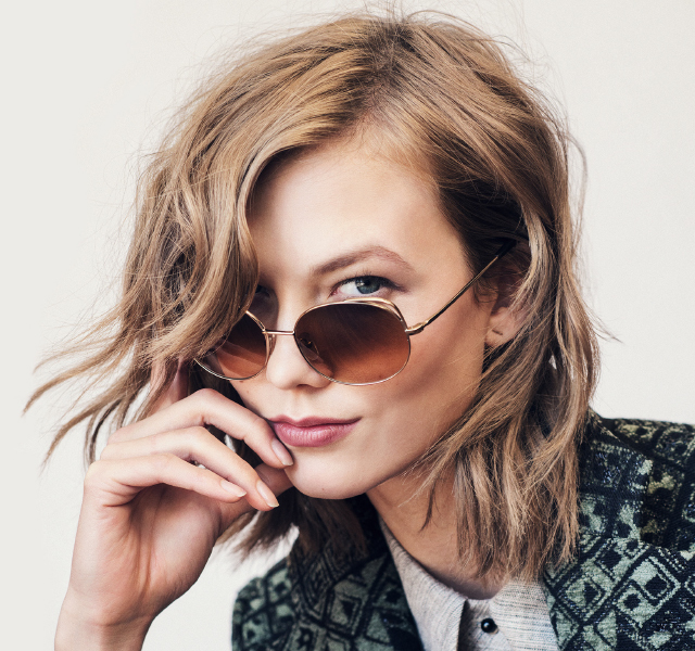 Karlie Kloss and Warby Parker sunglasses = Cool shades for a cause