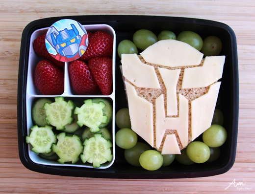 Transformers Bento Box Lunches by Alpha Mom | Cool Mom Picks