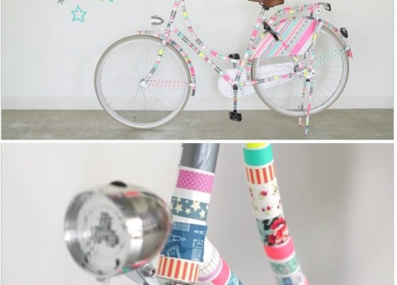 Washi Tape bicycle from Hema