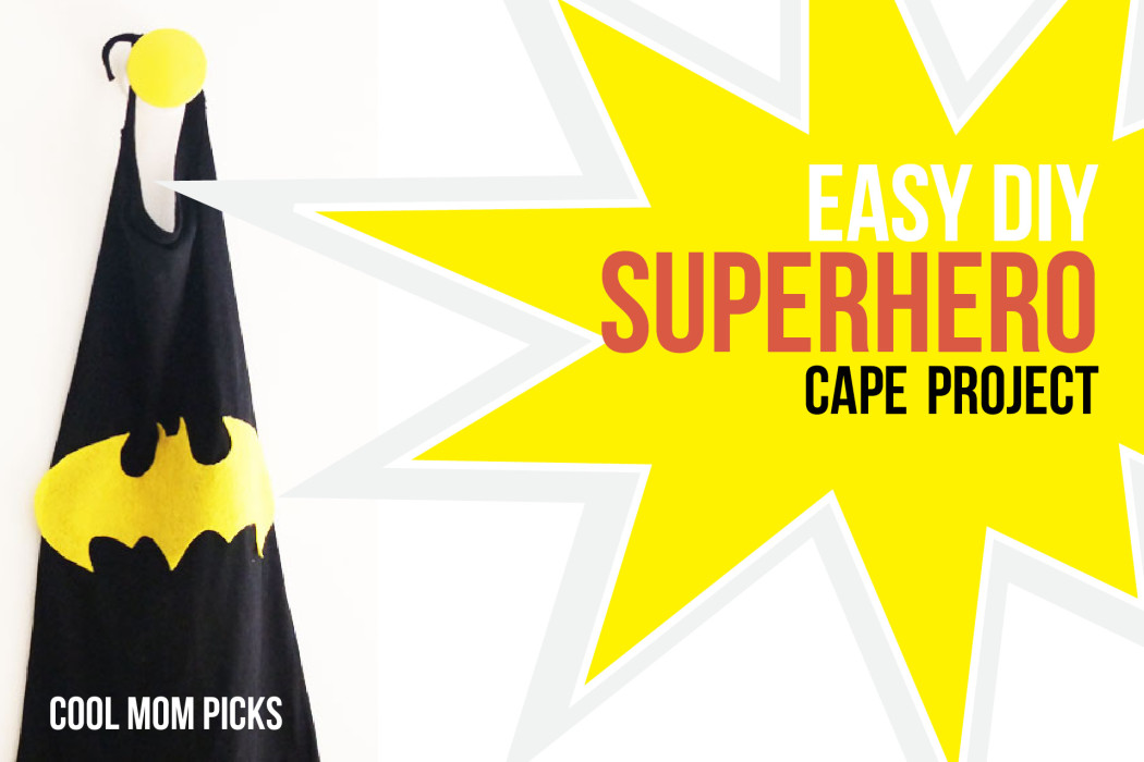 Easy DIY superhero cape craft | Cool Mom Picks
