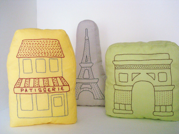 A Little World Paris pillows | Cool Mom Picks
