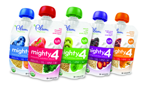 Plum Organics Mighty Pouches: New healthy snacks made just for toddlers