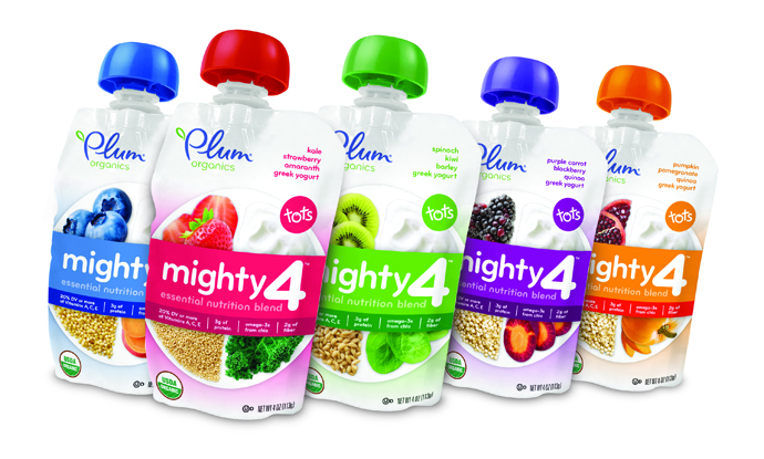 Plum Organics makes the leap from great baby foods to great toddler snacks