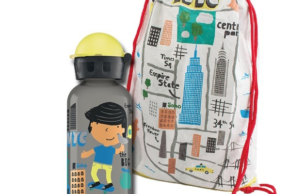 SIGG water bottles for kids: NYC design in new travel series