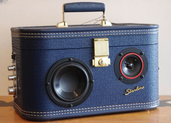 Case of Bass: Vintage Luggage Turned into a Speaker | Cool Mom Tech