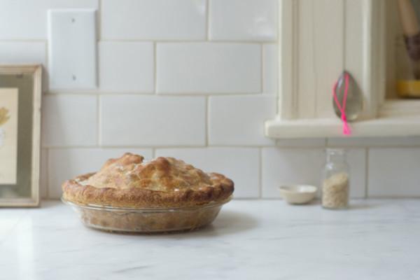 Summer pie recipes at Cool Mom Picks: Lemon Verbana Blueberry Pie at 101 Cookbooks