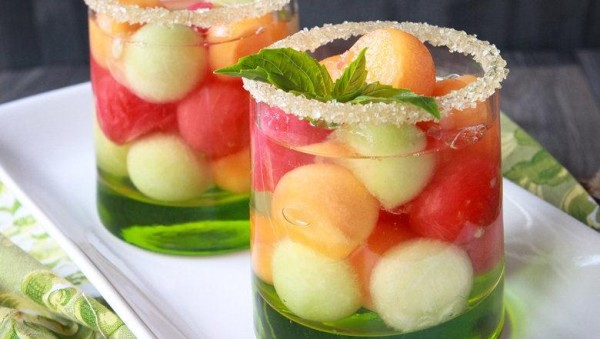 Cool Mom Picks Fruity Cocktail Recipes for Summer| Triple Melon Rumballa by Cheeky Kitchen