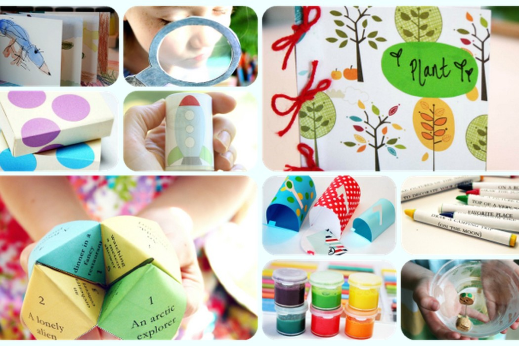Alphabet Glue free ezine offers crafts for kids all based on books