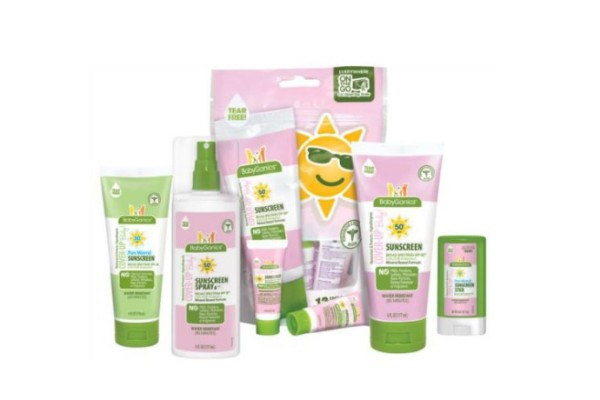 Babyganics safe sunscreen for kids | coolmompicks.com