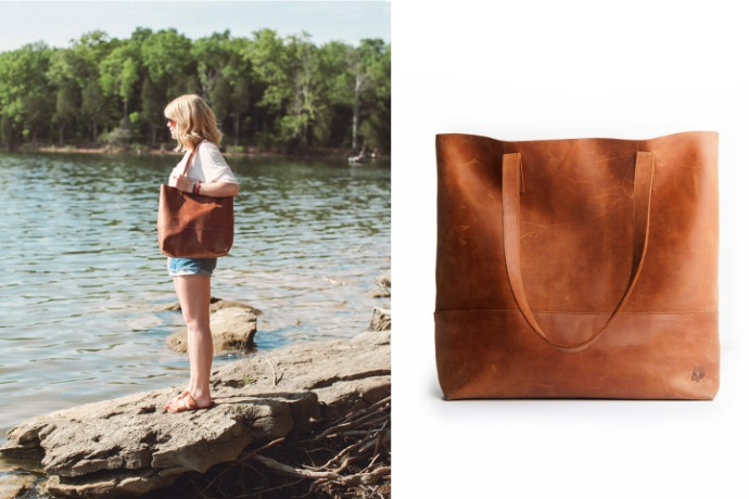 The Mamuye Bag from FashionABLE is the leather tote that feels divine – and so will you